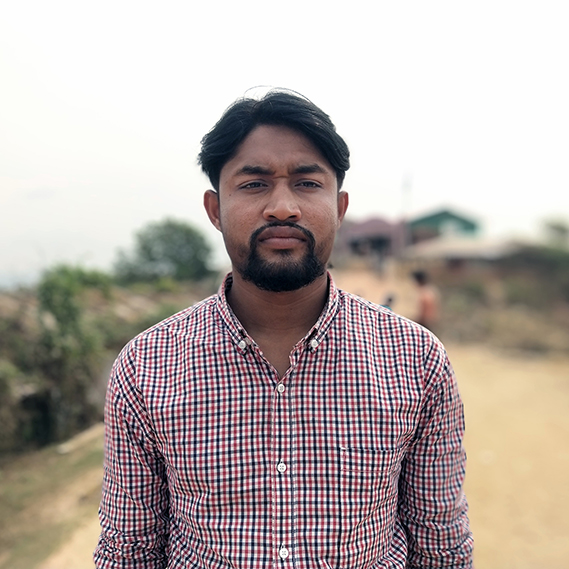 Saidul Hoque is making videos in the Rohingya language to teach refugees about the coronavirus